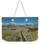 Road To Sierra  Weekender Tote Bag