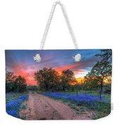 Road To Sunset Weekender Tote Bag