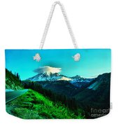 Road To The Mountain  Weekender Tote Bag