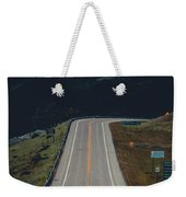 Road To The Mountains Weekender Tote Bag