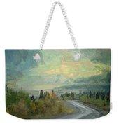 Road To The Sun, Denali Weekender Tote Bag