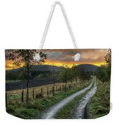 Road To The Sunset Weekender Tote Bag