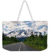 Road To Valdez Weekender Tote Bag