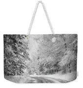 Road To Winter Weekender Tote Bag