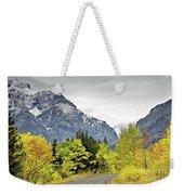 Road Too Autumn Weekender Tote Bag