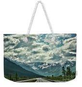 Road Travel Alaska Color  Weekender Tote Bag