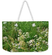 Roadside Bouquet Of Wildflowers In Mchenry County Weekender Tote Bag