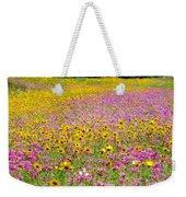 Roadside Flower Garden Weekender Tote Bag