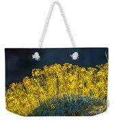 Roadside Flowers Weekender Tote Bag