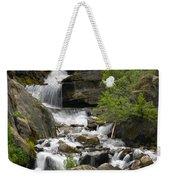 Roadside Mountain Stream Weekender Tote Bag