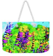 Roadside Wildflowers Weekender Tote Bag