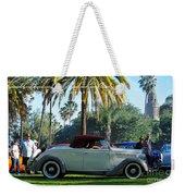 Roadster At The Castle Weekender Tote Bag