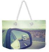 Roadtrip, Us Freeway Weekender Tote Bag