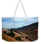 Roadway Rock Formations Arches National Park Weekender Tote Bag