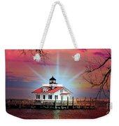 Roanoke Marshes Lighthouse, Manteo, North Carolina Weekender Tote Bag