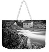 Roanoke River Flow Weekender Tote Bag