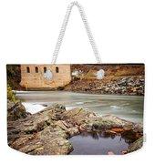 Roanoke River Niagra Rd Dam Weekender Tote Bag