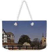 Roanoke Virginia Springtime Cityscape Weekender Tote Bag