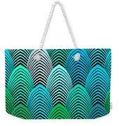 Roaring 20's Turquoise Weekender Tote Bag
