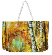 Roaring Birch  Weekender Tote Bag