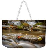 Roaring Fork Stream Great Smoky Mountains Weekender Tote Bag