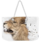 Roaring Lion No 04 Weekender Tote Bag