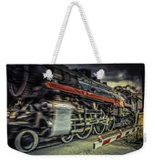 Roaring Past Weekender Tote Bag