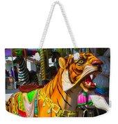 Roaring Tiger Ride Weekender Tote Bag
