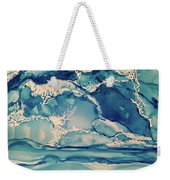 Roaring Waves Weekender Tote Bag
