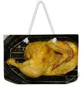 Roasting Half Chicken, 4 Of 4 Weekender Tote Bag
