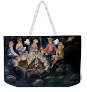 Roasting Marshmallows Weekender Tote Bag