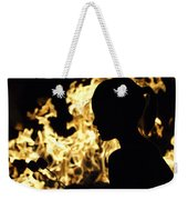 Roasting Marshmallows Over An Open Fire Weekender Tote Bag