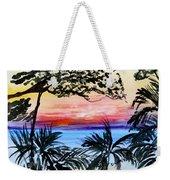 Roatan Sunset Weekender Tote Bag