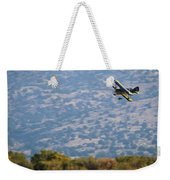 Rob Caster In Miss Diane 5x7 Aspect, Friday Morning Weekender Tote Bag