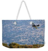 Rob Caster In Miss Diane, Friday Morning 5x7 Aspect Signature Edition Weekender Tote Bag