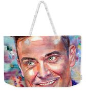 Robbie Williams Portrait Weekender Tote Bag