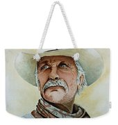 Robert Duvall As Augustus Mccrae In Lonesome Dove Weekender Tote Bag