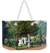 Robert E. Lee Visits Stonewall Jackson's Grave Weekender Tote Bag