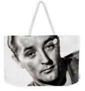 Robert Mitchum, Vintage Actor Weekender Tote Bag