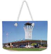 Robert Mueller Municipal Airport And Control Tower, Austin, Texas Weekender Tote Bag