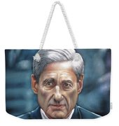 Robert Mueller Portrait , Head Of The Special Counsel Investigation Weekender Tote Bag