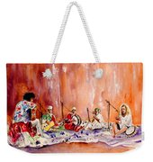 Robert Plant And Jimmy Page In Morocco Weekender Tote Bag