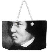 Robert Schumann, German Composer Weekender Tote Bag
