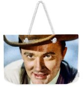 Robert Vaughn, Vintage Actor Weekender Tote Bag