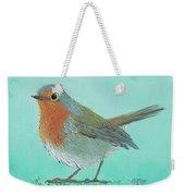 Robin Bird Painting Weekender Tote Bag