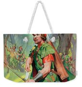 Robin Hood Weekender Tote Bag by James Edwin McConnell