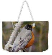 Robin In Tree 2 Weekender Tote Bag