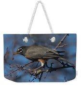 Robin Bird Weekender Tote Bag