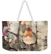 Robin Song Of Spring Weekender Tote Bag