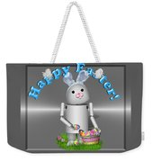 Robo-x9 The Easter Bunny Weekender Tote Bag